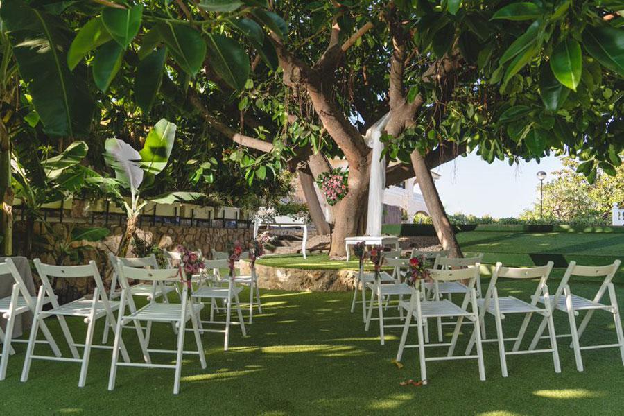 finca boda Benidorm La Era ceremonia