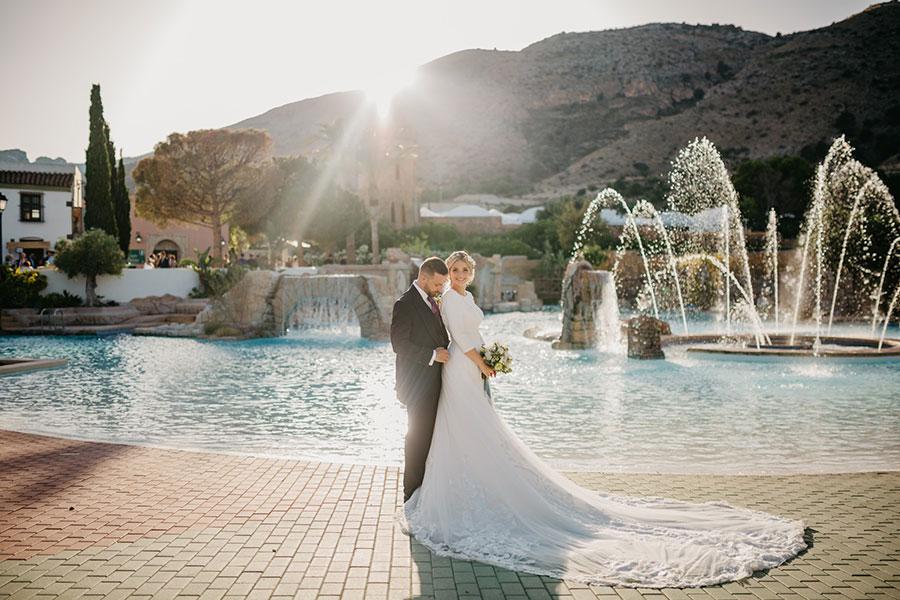 eventos Iberia Village Benidorm boda fuente